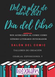 23 abril 2021 Día del libro