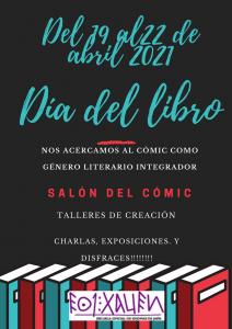 23 abril 2021 Día del libro POSTER