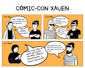 salón del comic xauen -con