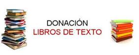 donacion libros texto