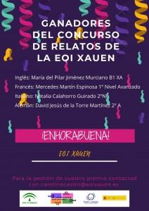 GANADORES DEL CONCURSO DE RELATOS de la EOI XAUEN (1)
